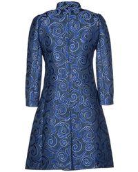 Versace Jeans Couture Coat - Blue