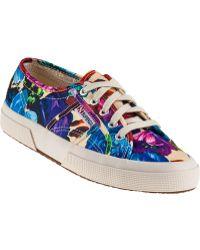 Superga 2750 Sneaker Hawaiian Fabric - Lyst