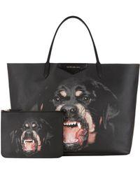 Givenchy Antigona Rottweiler Shopping Bag - Lyst