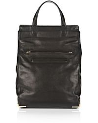 Alexander Wang Prisma Skeletal Lunch Backpack in Black with Pale Gold - Lyst