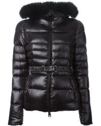 Herno Fox Fur Trimmed Jacket - Lyst