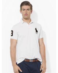 Polo Ralph Lauren Custom-fit Big Pony Polo - Lyst