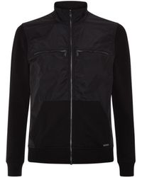 Michael Kors Nylon and Cotton Zip-front Jacket - Lyst