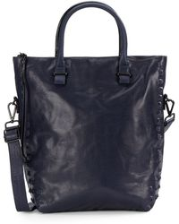 Elliott Lucca - Studded Leather Tote - Lyst