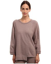 Adidas By Stella Mccartney Beige Yoga Sweatshirt - Lyst