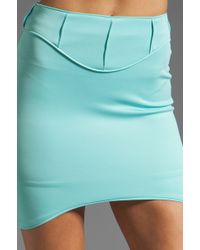 Blessed Are The Meek - Aqua Skirt - Lyst