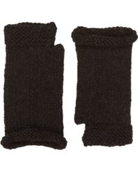 Anna Kula Fingerless Gloves - Lyst