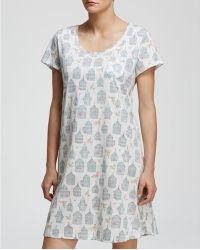Carole Hochman - Antique Birdcages Sleepshirt - Lyst