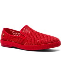 Rivieras Classic Cotton Mesh red - Lyst