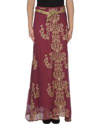 Jucca Long Skirt - Lyst