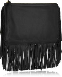 Pierre Hardy Fringed Leather Clutch - Lyst