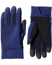 Stone Island - Softshell Gloves - Lyst