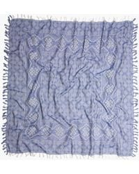 Madewell Oversized Gridweave Scarf - Lyst