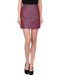 Antipodium Mini Skirt - Lyst