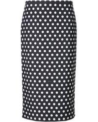 Rochas | Polka Dot Skirt | Lyst
