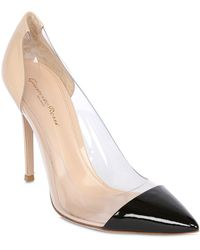 Gianvito Rossi 100Mm Patent Leather Pumps - Lyst