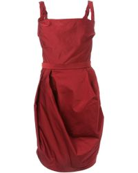 Vivienne Westwood Red Label Corseted Faille Dress - Lyst