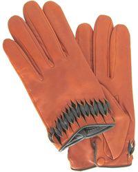 Thomasine Gloves - Milan Glove Twisted Wrist Deco Brick - Lyst