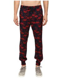 Marc Jacobs Flamingo Summer Silk Twill Jogger red - Lyst