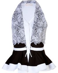 Peter Pilotto Lace Detailed Cate Top - Lyst