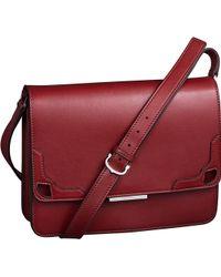 Cartier Marcello De Bag with Long Strap - Lyst