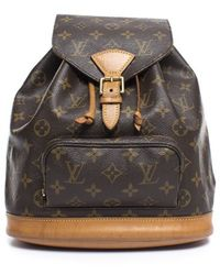 Louis Vuitton Pre-Owned Monogram Montsouris Mm Backpack - Lyst