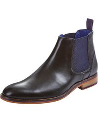 Ted Baker - Camroon Leather Chelsea Boots - Lyst