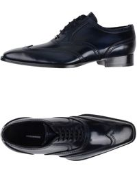 DSquared² Lace-up Shoes - Blue