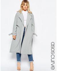 ASOS - Curve Duster Coat - Lyst