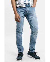 Topman Stretch Skinny Fit Jeans - Lyst