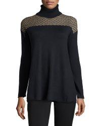 Catherine Catherine Malandrino Barlow Knit Turtleneck Sweater - Lyst
