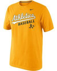 Nike Men'S Oakland Athletics Practice T-Shirt - Lyst