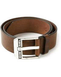 Diesel Blue Star Belt - Lyst