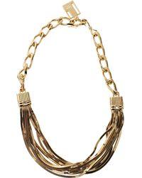 Lanvin Art Deco Short Necklace - Lyst