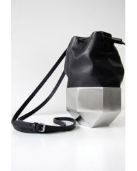 Persephoni - Black Drawstring Bag - Lyst