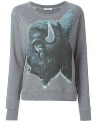 Paul by Paul Smith - Animal Print Sweatshirt - Lyst