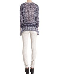 Girl by Band of Outsiders - Floral Jean - Lyst