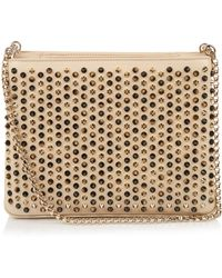 Christian Louboutin - Triloubi Spike-embellished Large Shoulder Bag - Lyst