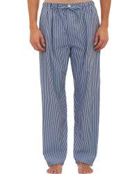 Barneys New York Multistripe Pajama Pants - Lyst