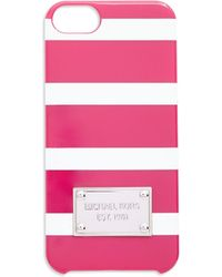 MICHAEL Michael Kors Snap-On Iphone 6 Case pink - Lyst