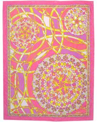 Emilio Pucci Pink Beach Towel - Lyst