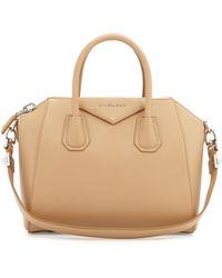 Givenchy Antigona Small Leather Satchel Bag - Lyst
