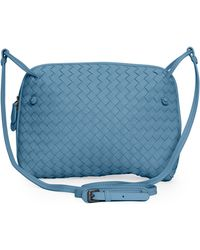 Bottega Veneta Veneta Small Messenger Bag - Lyst