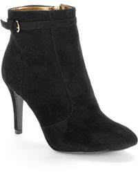 Nine West Mainstay Ankle Booties - Lyst