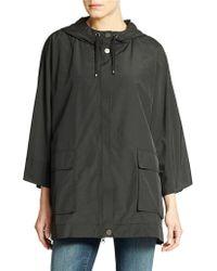 Eileen Fisher Hooded Jacket - Lyst