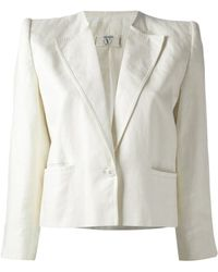Valentino Vintage Cropped Jacket - Lyst