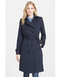 London Fog Double Breasted Trench Coat - Lyst