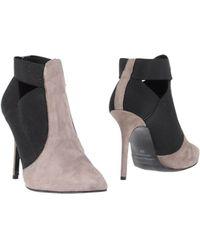 Daniela Fargion Ankle Boots - Gray