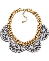 Juicy Couture - Brillant Blooms Flower Cluster Necklace - Lyst