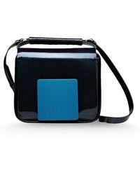 Jil Sander Small Leather Bag - Lyst